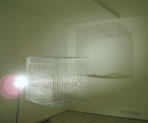 Installation cage and lights