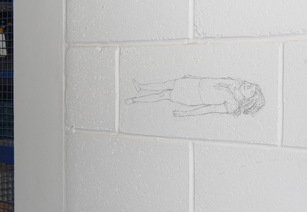 wall drawing body relaxation